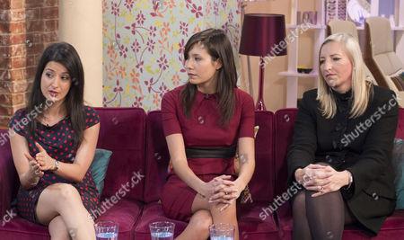 Alicia Alinia, Jamie Gaw and Sue Medder