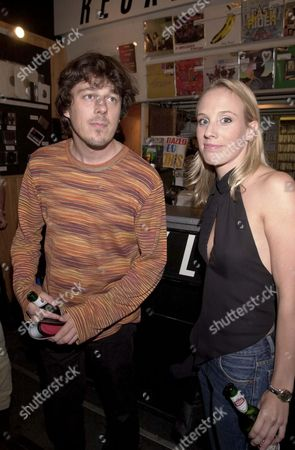 ALAN DAVIES AND GIRLFRIEND KIRSTEN O'BRIEN AT THE PARTY FOR THE FILM PREMIERE OF HIGH FIDELITY