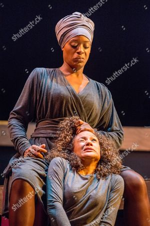 Editorial image of 'Crowning Glory' theatre photocall, Royal Stratford East, London, Britain - 21 Oct 2013