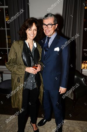 Editorial picture of Sportmax and Cutler And Gross eyewear launch party hosted by Leigh Lezark at The Arts Club, London, Britain - 23 Oct 2013