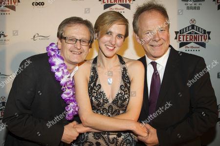 Stuart Brayson, Tamara Harvey and Bill Oakes