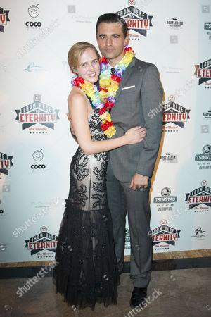 Tamara Harvey and Darius Campbell