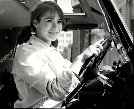 Actress Heather Sears Driving Her Rolls Royce Heather Christine Sears: (28 September 1935 Oo 3 January 1994) Was A British Stage And Screen Actress.