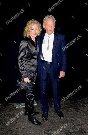 Stock Picture of Danna Ruscha and Ed Ruscha