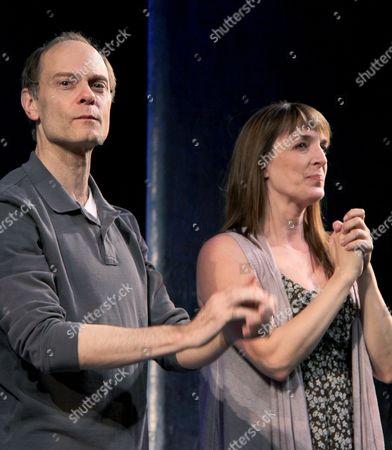 David Hyde Pierce, Julia Murney