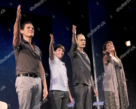 Paul Anthony Stewart, Frankie Seratch, David Hyde Pierce, Julia Murney