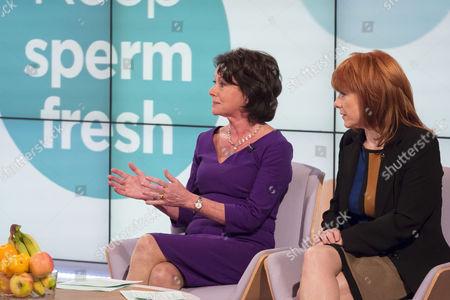 Editorial image of 'Lorraine Live' TV Programme, London, Britain. - 24 Oct 2013