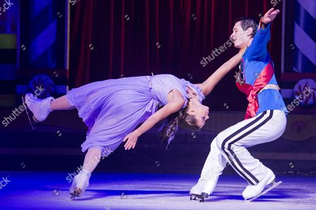 Stock Photo of Anastasia Ignatyeva and Brendan Berelenko