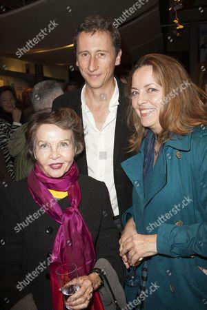 Leslie Caron, Nicholas Rowe and Greta Scacchi