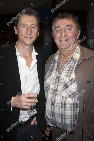 Nicholas Rowe (Charles) and Ifan Huw Dafydd (Mr Morgan)