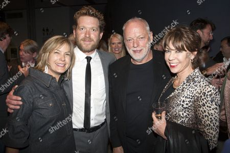Penny Smith, Barnaby Kay, David Gilmour and Kathy Lette