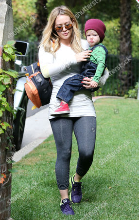 Editorial image of Hillary Duff out and about, Los Angeles, America - 24 Oct 2013