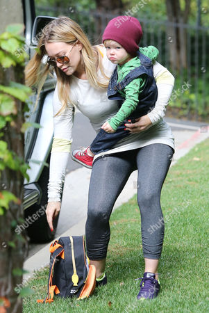 Editorial picture of Hillary Duff out and about, Los Angeles, America - 24 Oct 2013