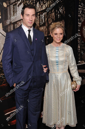 David Caves and Emilia Fox