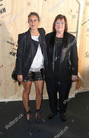 Isabel Marant and Margareta Van Den Bosch