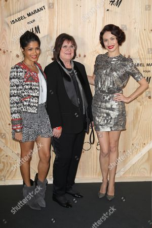 Editorial picture of Isabel Marant for H&M photocall, Paris, France - 24 Oct 2013