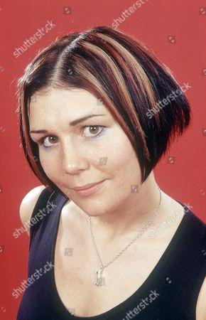 Editorial picture of Amanda MacKinnon lead singer of Biz