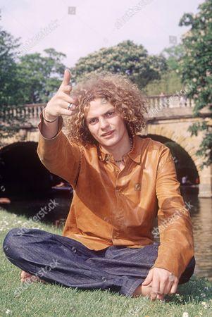 Editorial image of Joe Washbourn lead singer of Toploader, Oxford