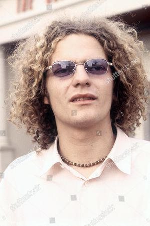 Stock Picture of Joe Washbourn lead singer of Toploader, Oxford