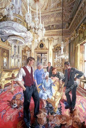 The Royal Family: a Centenary Portrait by John Wonnacott