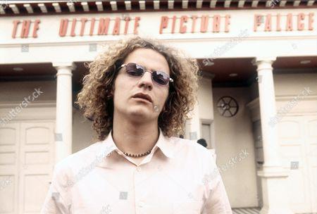 Stock Photo of Joe Washbourn lead singer of Toploader Oxford