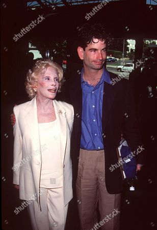 CAROL & CHARLIE MATTHAU AT THE DIRECTORS GUILD,SUNSET BOULEVARD HOLLYWOOD. SUNDAY 20TH AUGUST, 2000. FOR WALTER MATTHAU MEMORIAL SERVICE