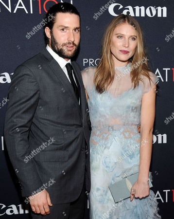 Stock Picture of Phil Winser and Dree Hemingway