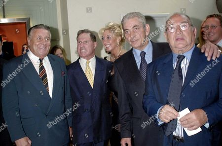 FREDDIE FOREMAN WITH TONY LAMBRIANOU AND FREINDS