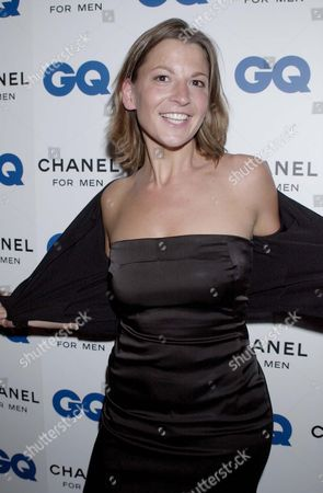 TANIA FOSTER BROWN AT THE GQ AWARDS AND PARTY.