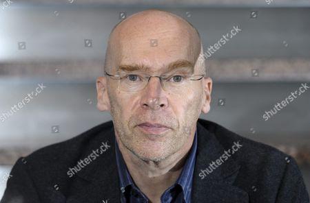 Editorial picture of Robert Asbacka at the Helsinki Book Fair, Helsinki, Finland - 24 Oct 2013