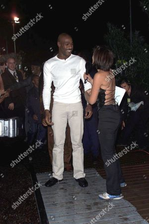 DARREN RAMSEY LEAVES THE BIG BROTHER HOUSE GREETED BY DAVINA MCCALL