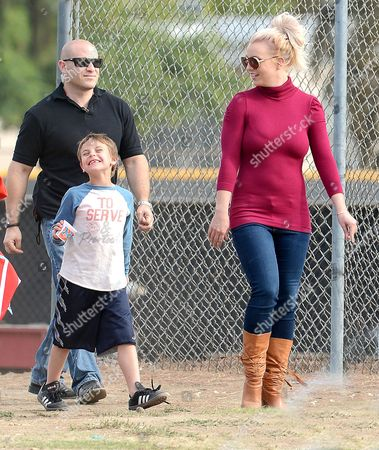 Britney Spears and son Jayden Federline