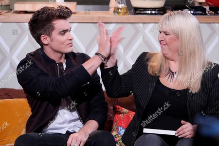 Union J and Shelley Smith