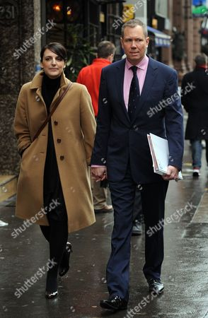 Editorial picture of James Hipwell Journalist Leaving The High Court In London After Giving Evidence To Leveson Inquiry.