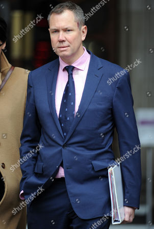 Stock Photo of James Hipwell Journalist Leaving The High Court In London After Giving Evidence To Leveson Inquiry.