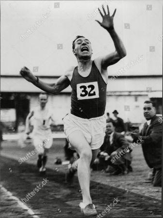 Athlete Donald Robertson.