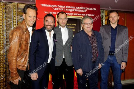 Editorial picture of 'Don Hemingway' Film Premiere, London, Britain - 28 Oct 2013
