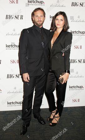Josh Lucas and wife Jessica Henriquez