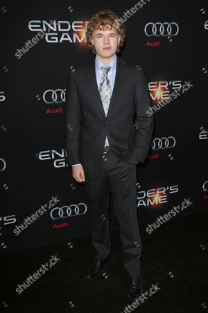 Editorial photo of 'Ender's Game' film premiere, Los Angeles, America - 28 Oct 2013