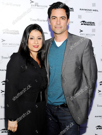 Stock Image of Lilly Pino and Danny Pino