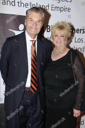 Stock Image of Fred Willard and Mary Willard