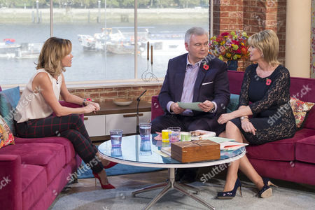 Amanda Holden with Eamonn Holmes and Ruth Langsford
