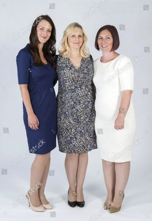 (L-R) Lucy Marks, Katy Slade and Jamie Allan