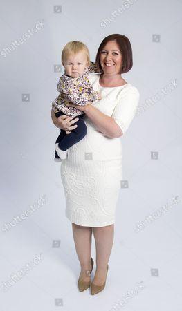 Jamie Allan with baby Beatrix