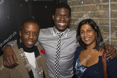 Adrian Lester, Kyle Scatliffe (Haywood Patterson) and Lolita Chakrabarti