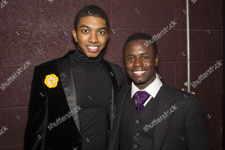 Christian Dante-White (Charles Weems) and James T Lane (Ozie Powell)