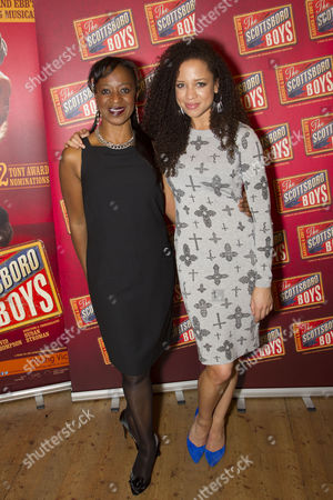 Dawn Hope (The Lady) and Natalie Gumede