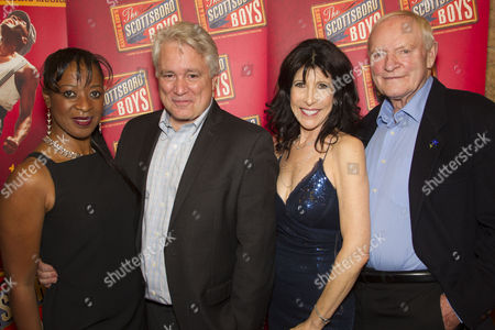 Dawn Hope (The Lady), David Thompson (Author), Catherine Schreiber (Producer) and Julian Glover (The Interlocutor)
