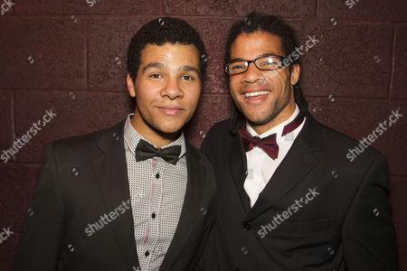 Emile Ruddock (Willie Roberson) and Sam Ruddock