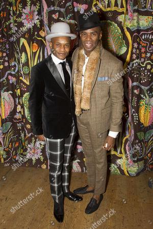 Forrest McClendon (Mr Tambo) and Colman Domingo (Mr Bones)